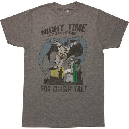 Batman Catwoman Chasin Tail - Batman And Catwoman Couple Shirts