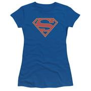 Supergirl Logo Juniors Short Sleeve Shirt