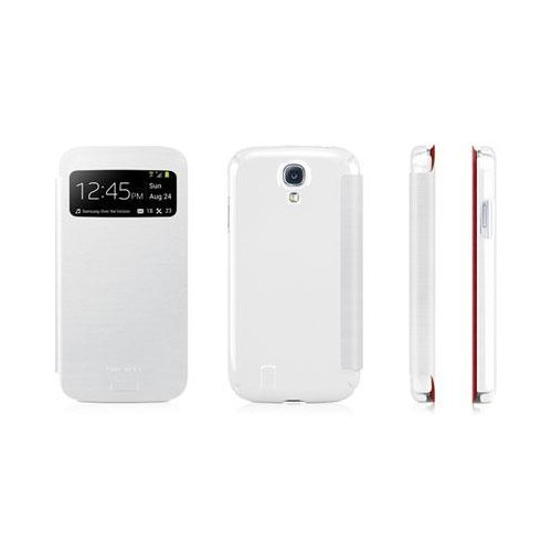 Macally VIEWCOVERS4W White Folio Case Samsungs4