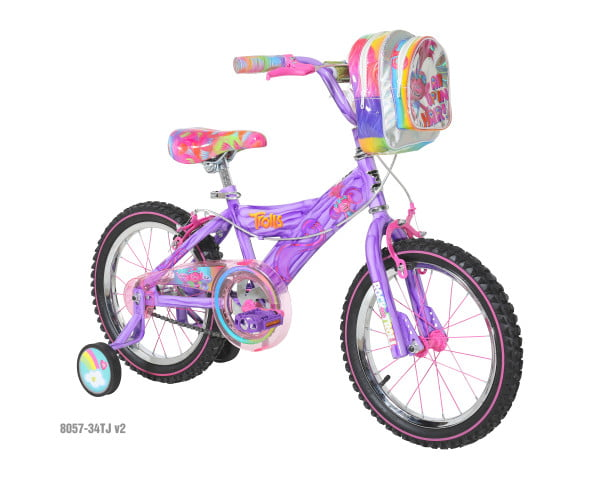 "16"" Girls Trolls Bicycle by Dynacraft BSC"