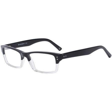 Randy Jackson Mens Prescription Glasses, 3017 Black Crystal