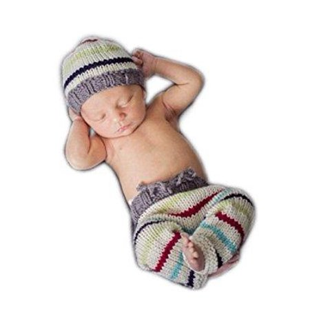 dbb11ac347ec fashion newborn boy girl baby costume outfits photography props hat ...