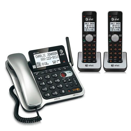 AT&T CL84202 Corded/Cordless Phone System