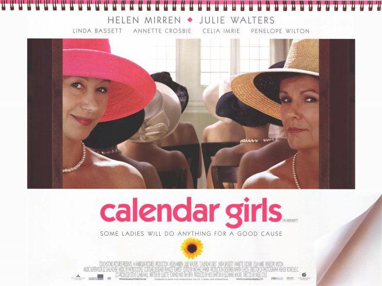 Calendar Girls POSTER Movie C Mini Promo by