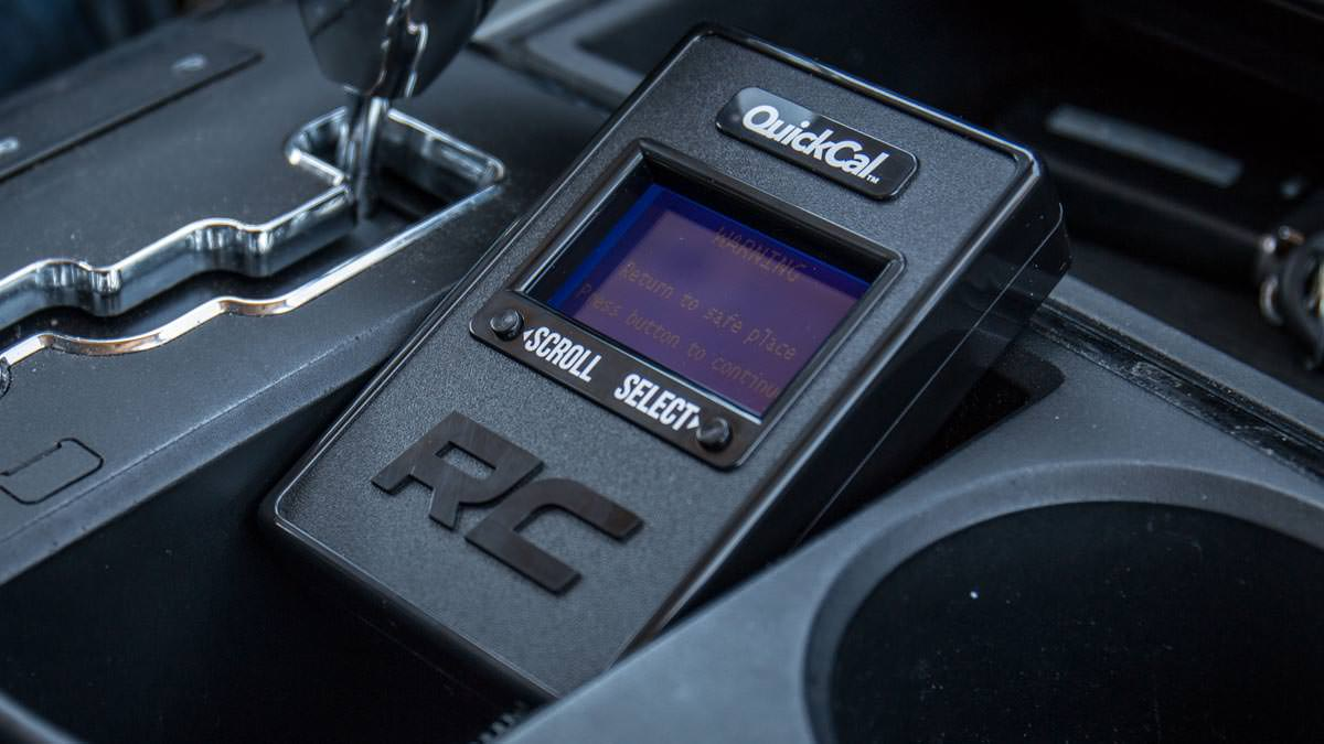 Rough Country - 90001 - QuickCal Speedometer Recalibration