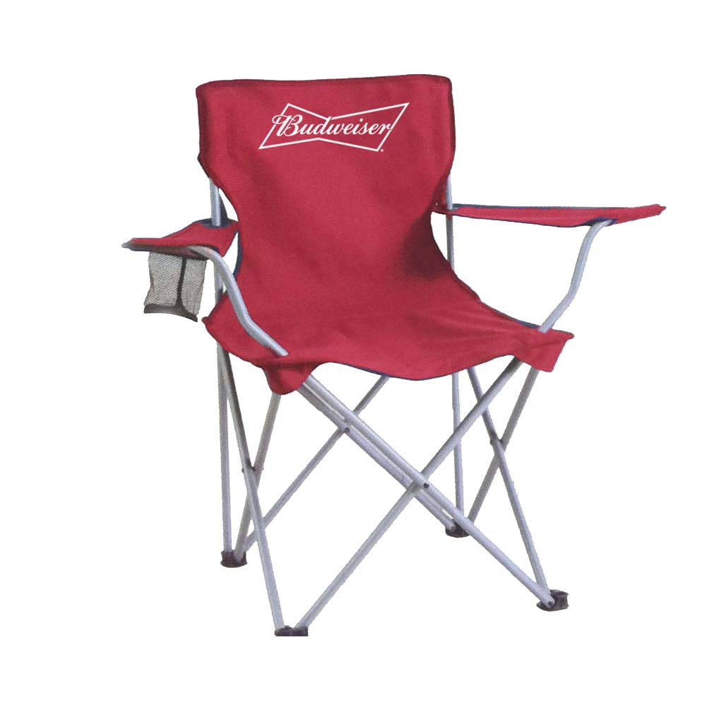 Budweiser Deluxe Collapsible Tailgate Chair by Supplier Generic