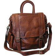 AmeriLeather Leather Three Way Backpack