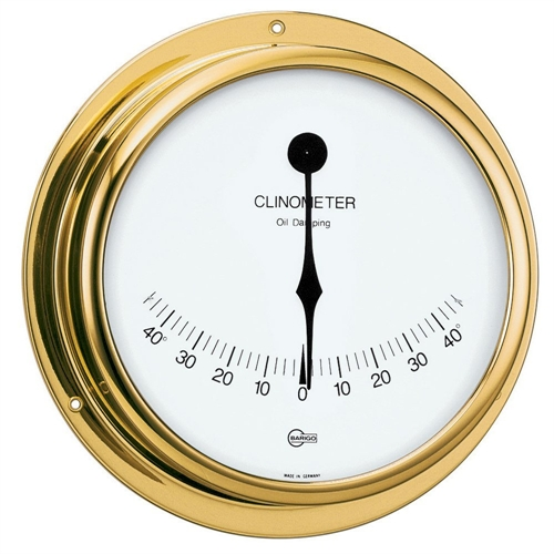 Barigo CLINOMETER 5-inch DIAL BRASS HOUSING VIKING SERIES 911MS