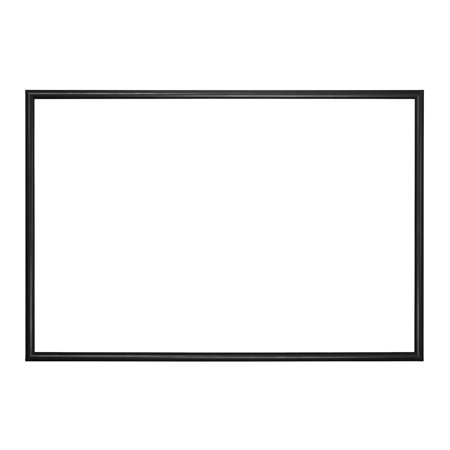 movie poster snap frame 27 x 40 inch narrow 1 inch 25mm wide aluminum front loading snap. Black Bedroom Furniture Sets. Home Design Ideas