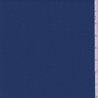 Ocean Blue Wave Stripe Jacquard Knit, Fabric By the Yard
