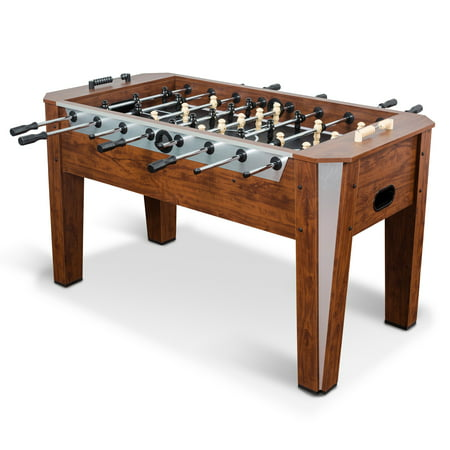 Classic Sport Liverpool Foosball Table – Brown – 60 in. x 29.75 in. – Classic -Finished Oversized Table