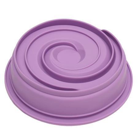 Moaere 9 Inches Non-stick Pan Round Vortex Spiral Leakproof Cake Pan Pie Mold Bakeware Baking Tool](Pie Cake)