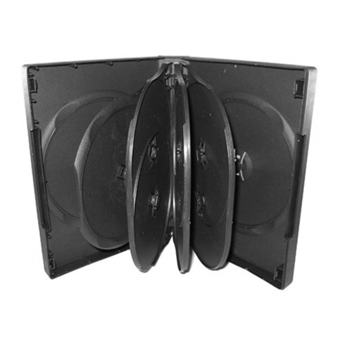 CheckOutStore 100 Black 9 Disc DVD Cases
