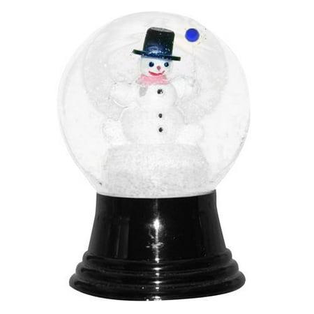 Snowman with Balloon Snow Globe