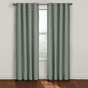 Twist Blackout Window Curtain Panel 84-Inch Blue