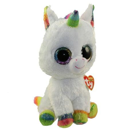 Beanie Boo Rabbit (TY Beanie Boos - PIXY the Unicorn (Glitter Eyes) (Medium Size - 10)