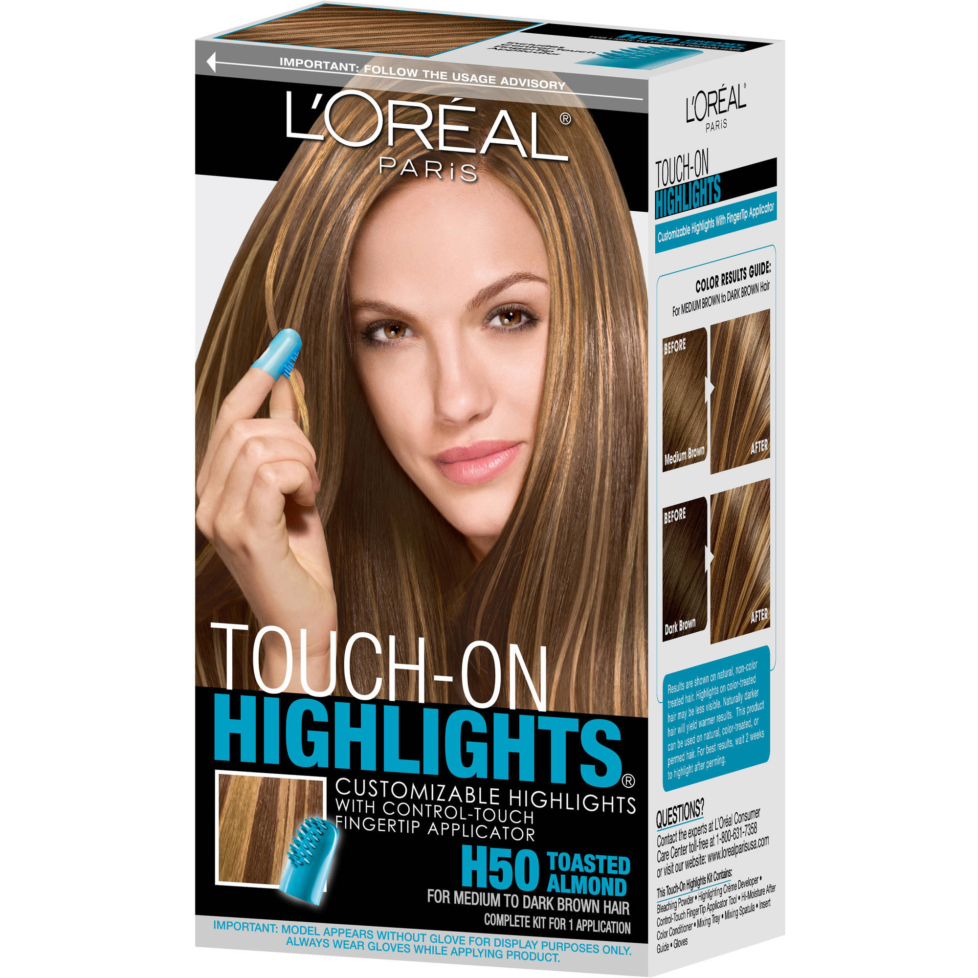 Loreal Loreal Touch On Highlights 1 Ea Walmart Com