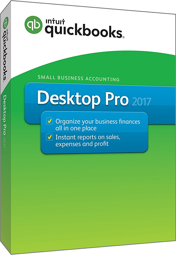 QuickBooks Desktop Pro 2017 Small Business Accounting Software by Intuit%2C Inc.