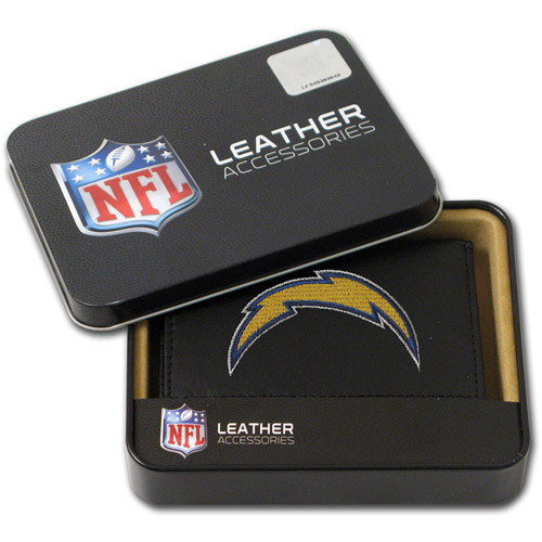NFL - Men's San Diego Chargers Embroidered Trifold Wallet