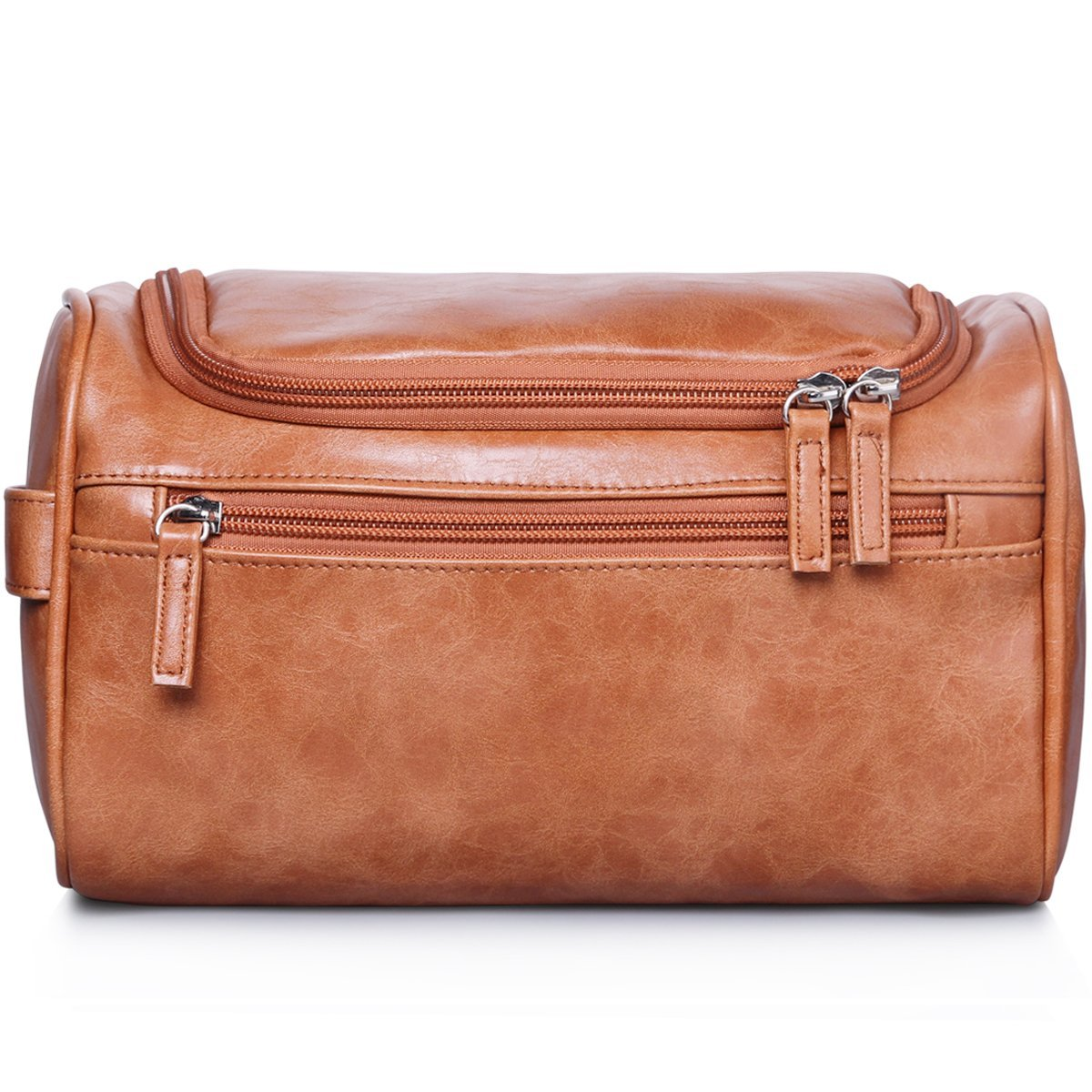 Travel Hanging Toiletry Bag for Men Waterproof Brown VA-04
