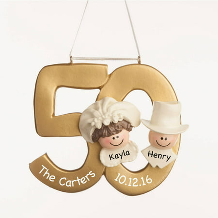 Personalized Christmas Ornament - 50th Anniversary ...
