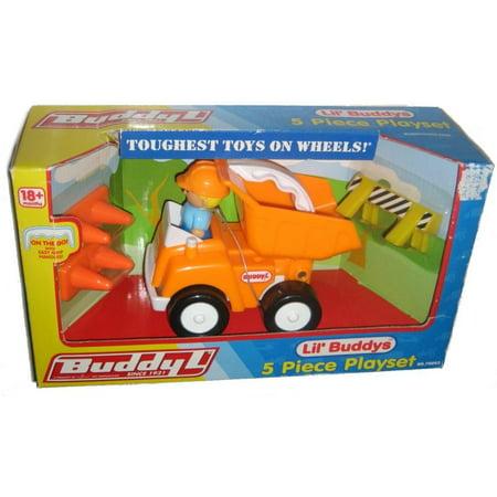 Buddy L Lil Buddy S Construction Dump Truck Kids Playset Toy 70002