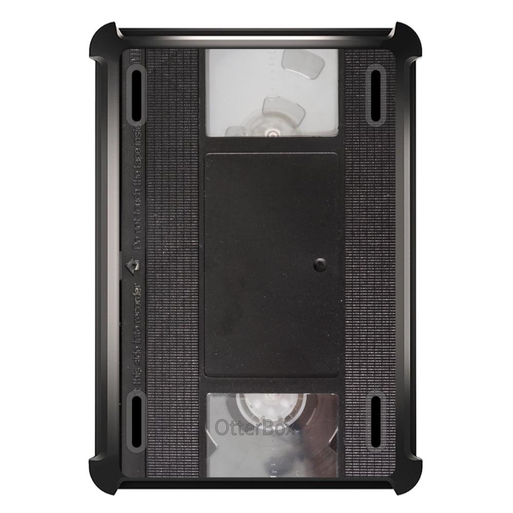 CUSTOM Black OtterBox Defender Series Case for Apple iPad Mini 1 / 2 / 3 - VHS Video Tape