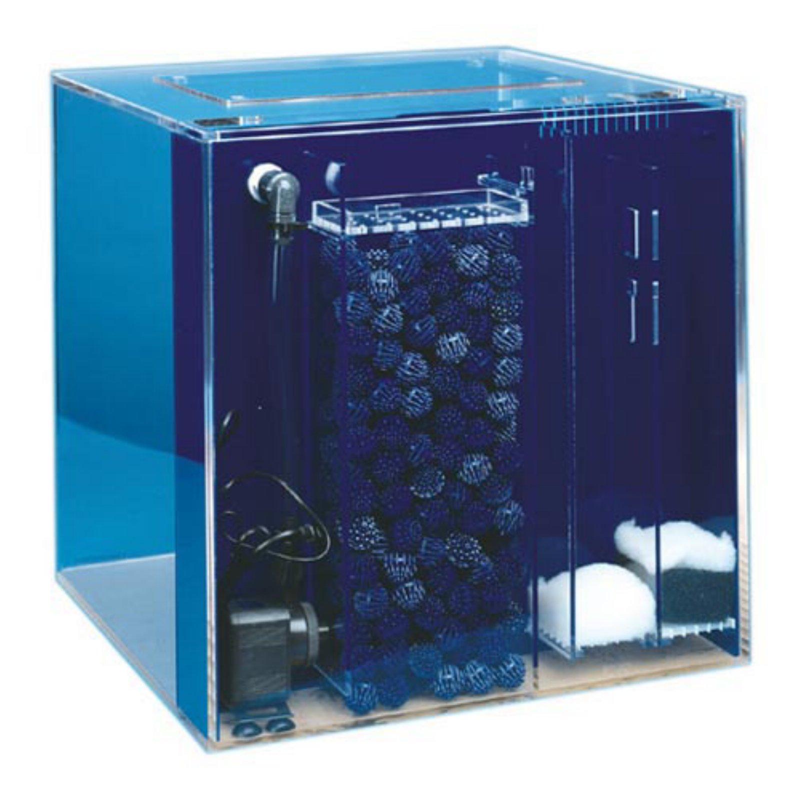 Uniquarium Cube Aquarium with Bio-Fil Filter