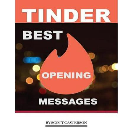 Tinder Best Opening Messages - eBook