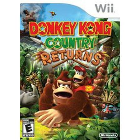Donkey Kong Country Returns - Nintendo Wii (Donkey Kong Gb Dinky Kong & Dixie Kong)