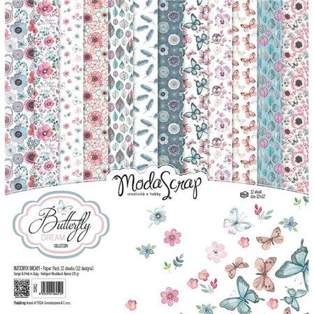 Elizabeth Craft ModaScrap Paper Pack 12