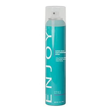 Enjoy Super Hold Hair Finishing Spray 10oz