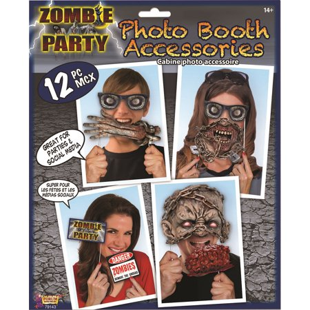 Zombie Party Decor Photo Booth Pieces Prop Halloween Party Accessory Adult - Jonathan Ross Halloween Party Photos