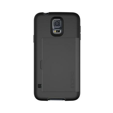 Incipio Stowaway Credit Card Case For Samsung Galaxy S 5  Black