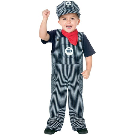 Thomas Train Costumes (Train Engineer Toddler Halloween)