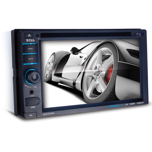 """Boss BV9372BI 6.2"""" Touch Detachable Double-DIN with USB/SD/AUX Inputs"""