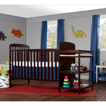 Dream On Me Anna 4 In 1 Full Size Crib And Changing Table