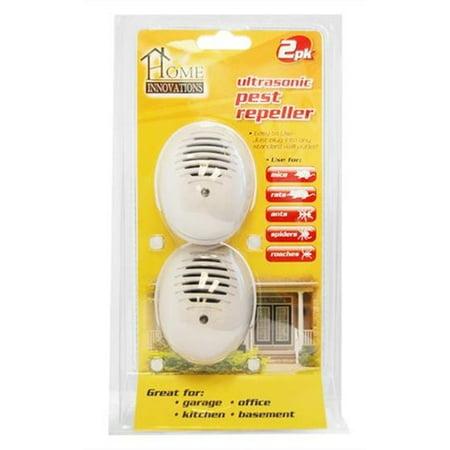 home innovations ultrasonic plug in pest repeller 1 pack. Black Bedroom Furniture Sets. Home Design Ideas
