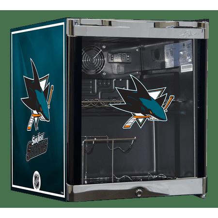 NHL Wine Cooler 1.8 cu ft - San Jose Sharks