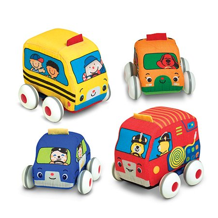 Melissa and Doug Pull-Back Vehicles Baby and Toddler