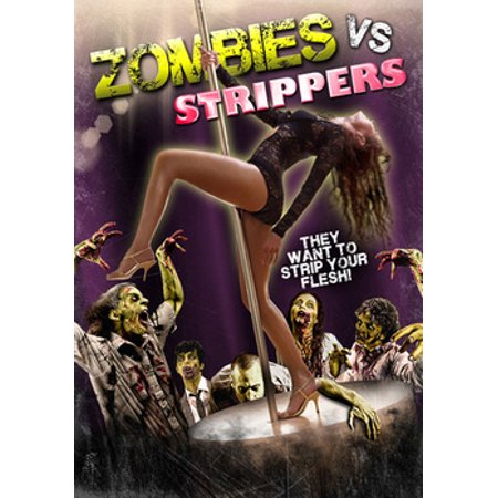 Zombies vs. Strippers (DVD) - Zombie Projection Dvd