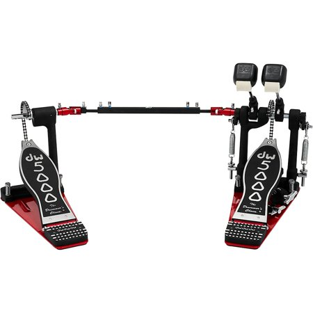 DW 5000 Series Single Chain Double Bass Drum Pedal with (Dw 9000 Series Bass Drum)
