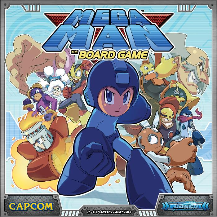 Mega Man: The Board Game: Mega Man: The Board Game Licensed, Boxed Board Game (Other) by Jasco Games