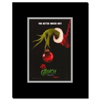 Dr. Seuss' How the Grinch Stole Christmas Framed Movie Poster