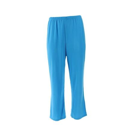 Slinky Brand Basic Cropped Pant 607-645
