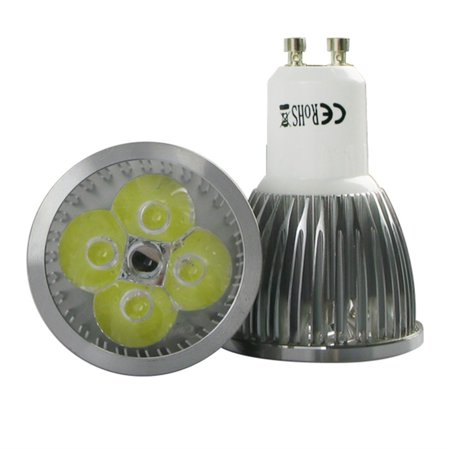 4 x GU10 3W 4W 5W 6W 9W LED SMD Spot Light Bulbs Day/Warm White High Power - image 3 of 8