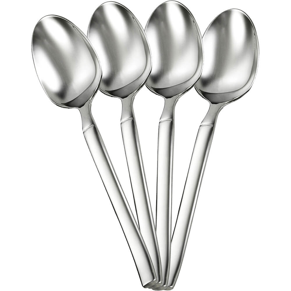 Zwilling JA Henckels Opus Silverware Set, Teaspoon, 4PK, Stainless Steel, 22770-244-4
