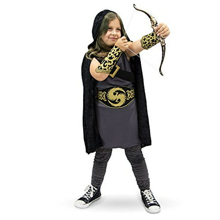 Boo! Inc. Ace Archer Children's Halloween Dress Up Roleplay Bow & Arrow Costume