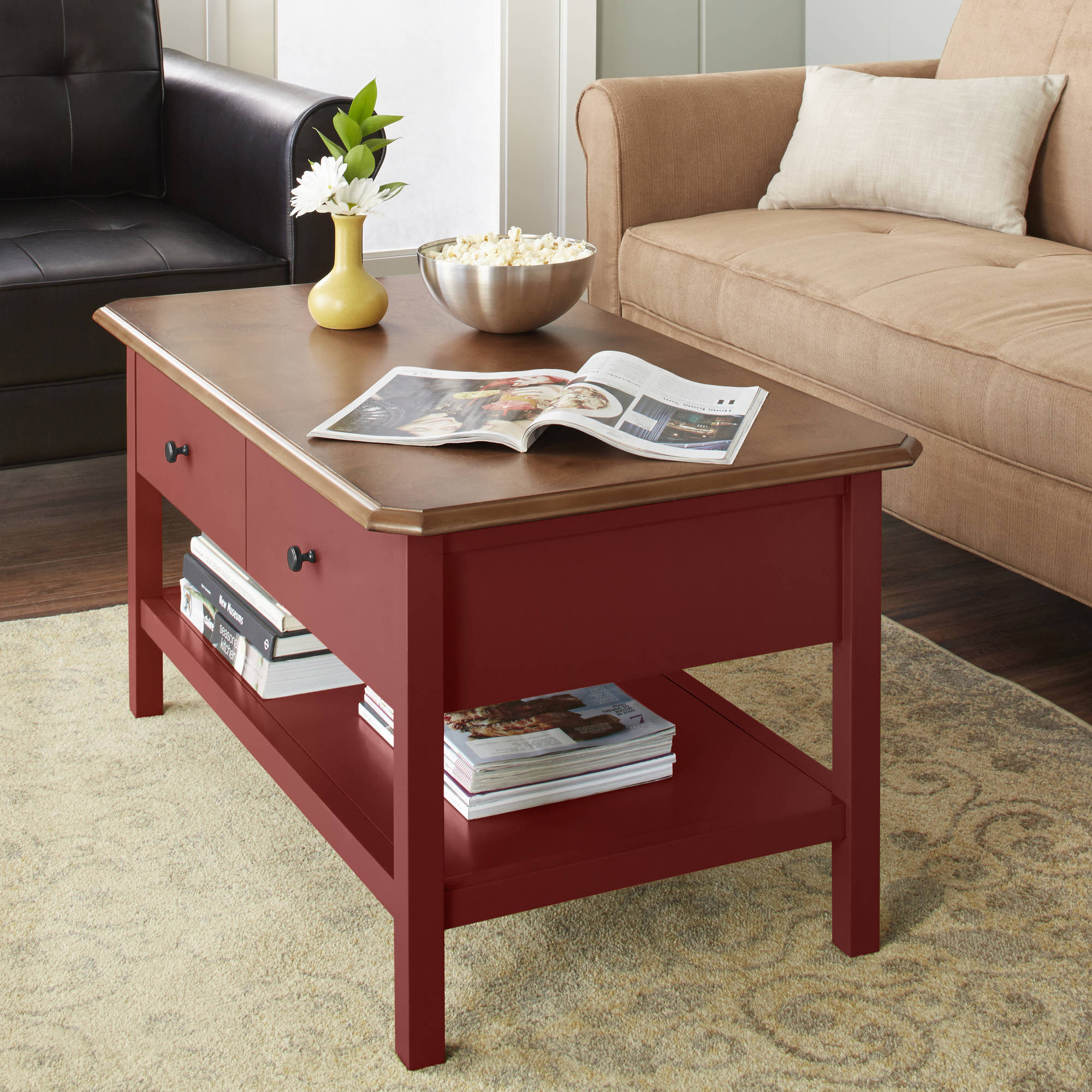 10 spring street hinsdale coffee table multiple colors walmart com