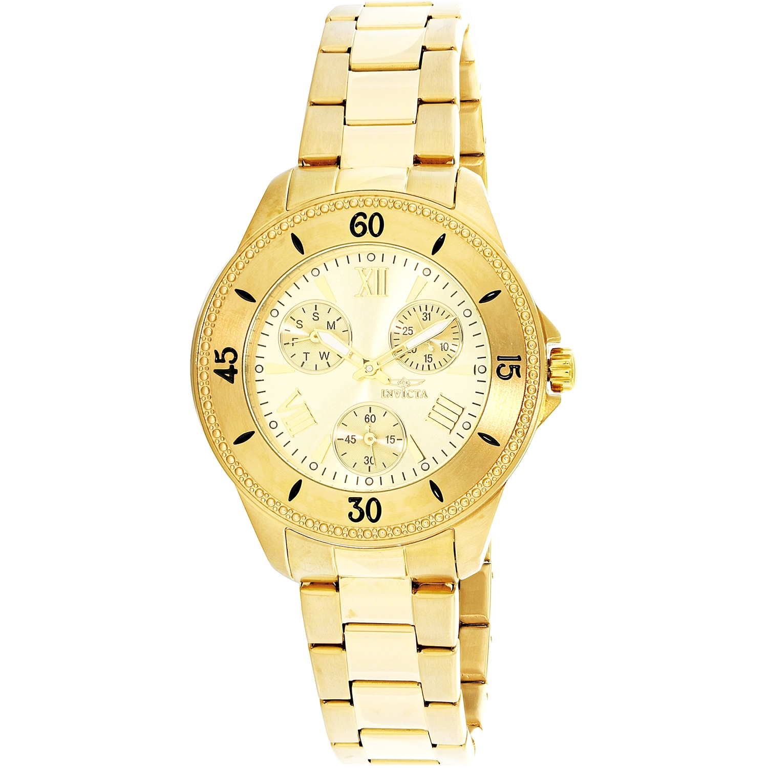 Invicta Women's Angel 21683 Gold Stainless-Steel Quartz Diving Watch